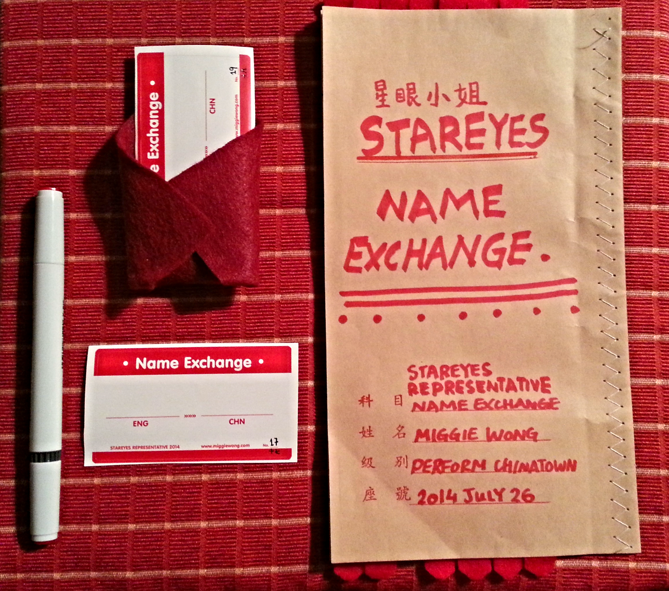 StarEyes Name Exchange Service