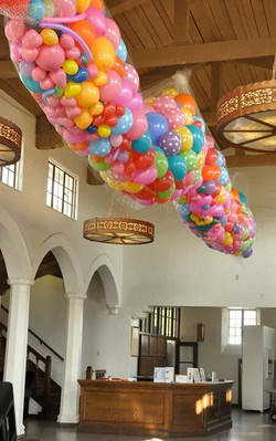 Balloon Drop and Pop Happening