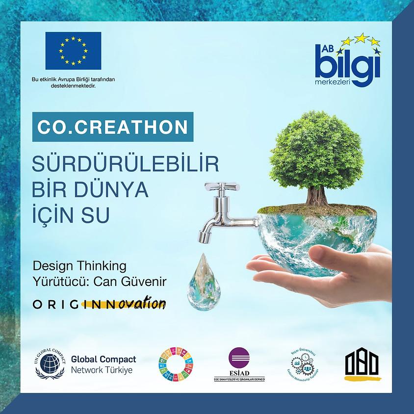 Co.Creathon - Sürdürülebilir Bir Dünya İçin Su