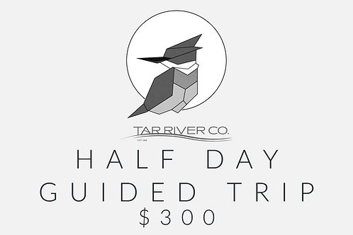 Half Day Guided Trip Gift Card