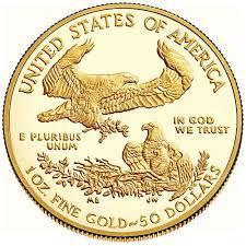 Arany érme American Eagle