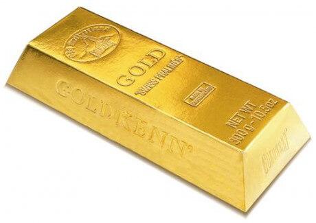 Aranyrúd, arany befektetések