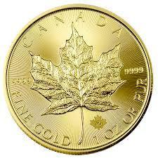 Arany érme Maple Leaf