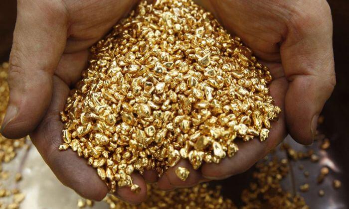 Aranyrögök, arany befektetések