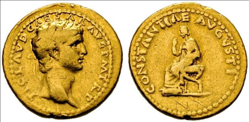 Római arany pénz, arany befektetések