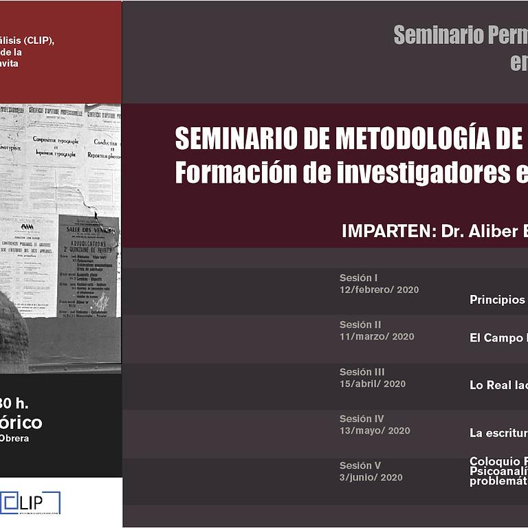 Seminario de metodología de la investigación en psicoanálisis