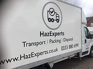 HazExpress Luton Box Van Sameday Courier Service