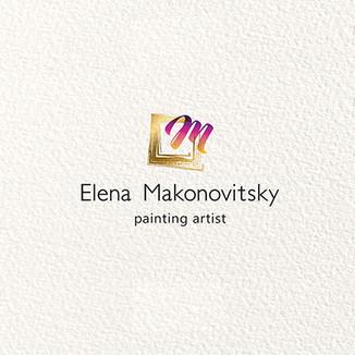 עיצוב לוגו ילנה מקונוביצקי