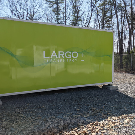 Largo Enters into its First Battery Sales Contract with Enel Green Power España for VCHARGE± System