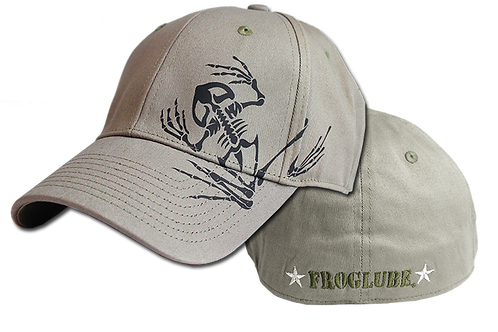 BoneFrog FrogLube Flex Fit Hat - GRAY