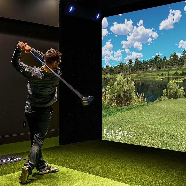 Simulator Golf Tournament