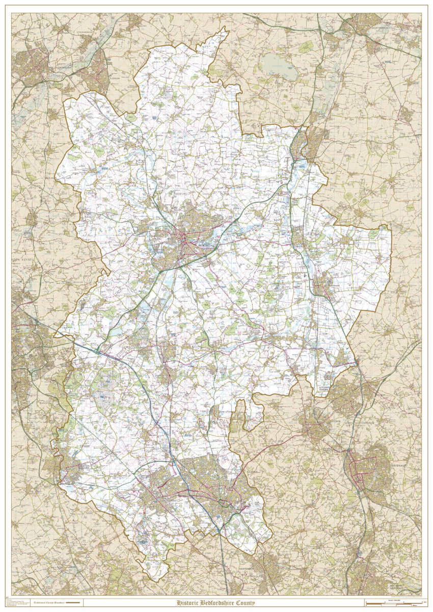 Historic Bedfordshire Sample Map