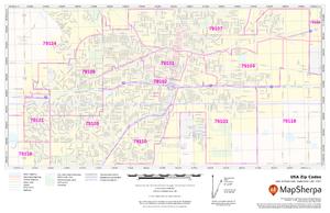 MapSherpa ZIP codes custom map sample