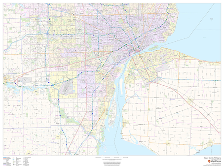 Print on Demand Product Update: USA Cities and Counties ZIP Codes and Streets Maps