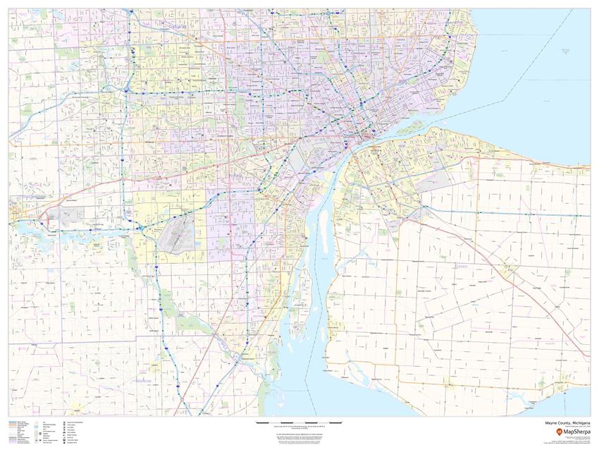 USA County Sample Map