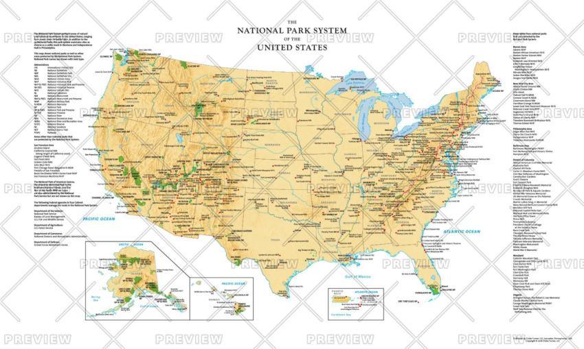Globe Turner National Parks System of the United States