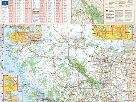 New Print On Demand Maps: Globe Turner Canadian Provinces and Hurricane Tracking