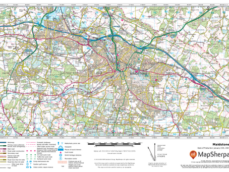 Product Update: UK Topographic