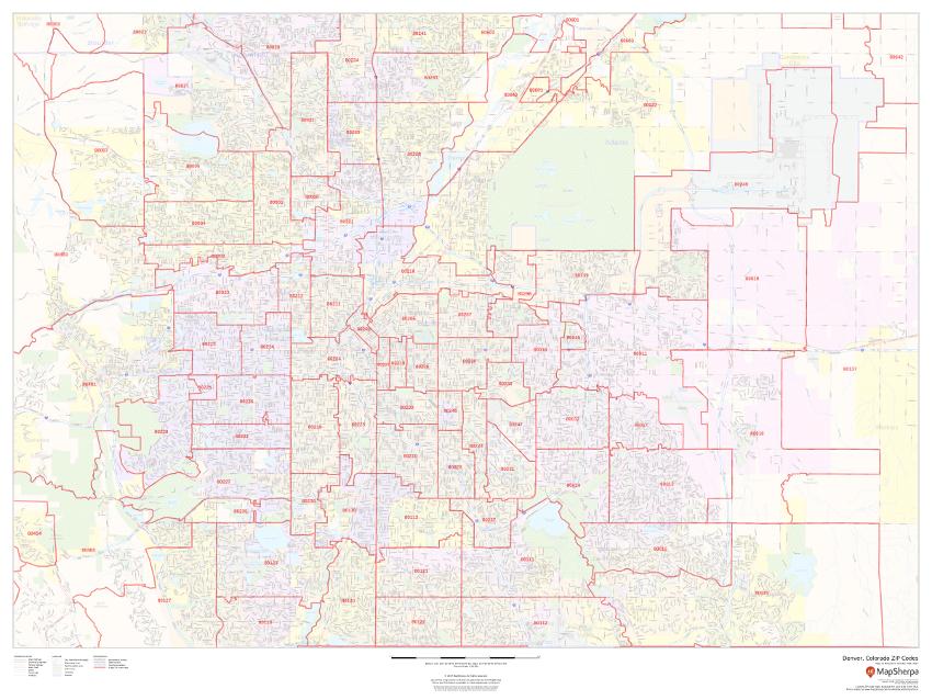 MapSherpa ZIP code sample