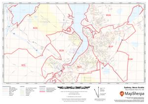 MapSherpa Postal Code Custom Map Sample