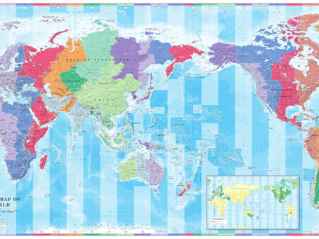 Print on Demand Product Updates: Cosmographics World Time Zones