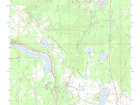 New Print on Demand Maps: United States Department Agriculture Forest Service Maps