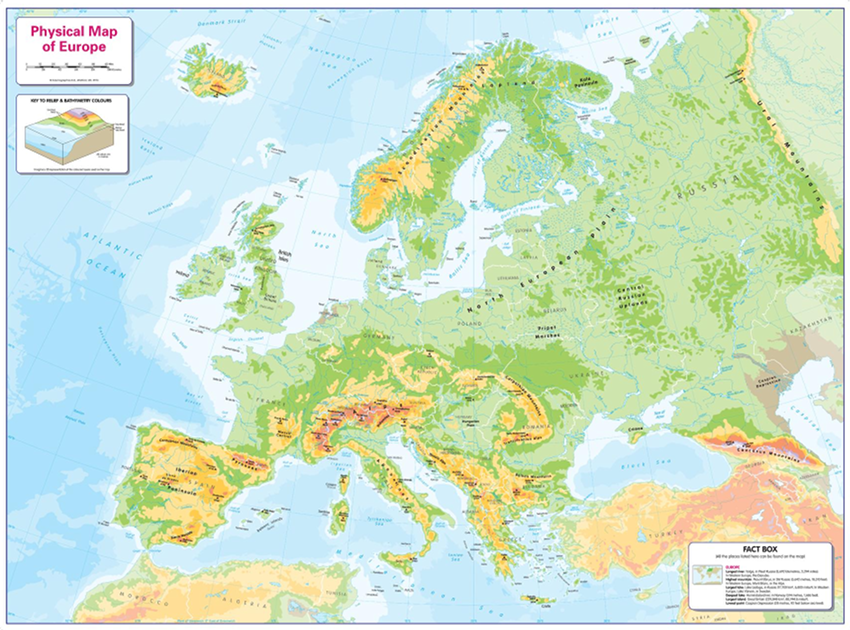 Europe Sample Map