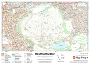 Arthur's Seat Sample Map