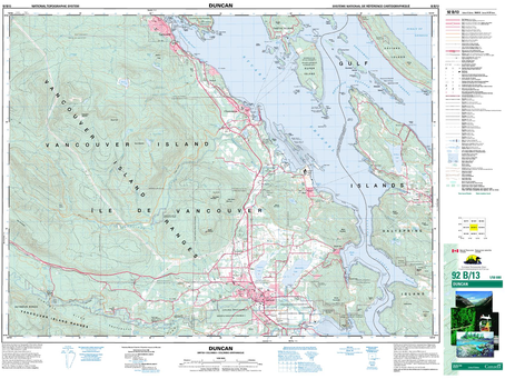 New Print on Demand Maps: Canada Topographic Maps for Southwest BC