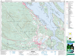 Sample map of Duncan, BC