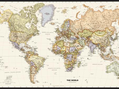 Print on Demand Product Update: Globe Turner and Magna Carta Maps World Maps