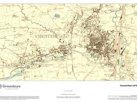 New Print on Demand Maps: Historical Maps of UK Cities