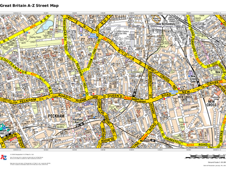 Product Update: Great Britain A-Z Street Map and Road Map
