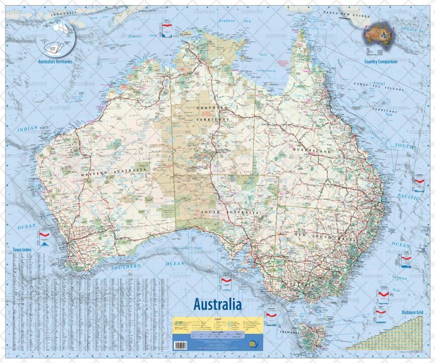 Meridian Maps Australia
