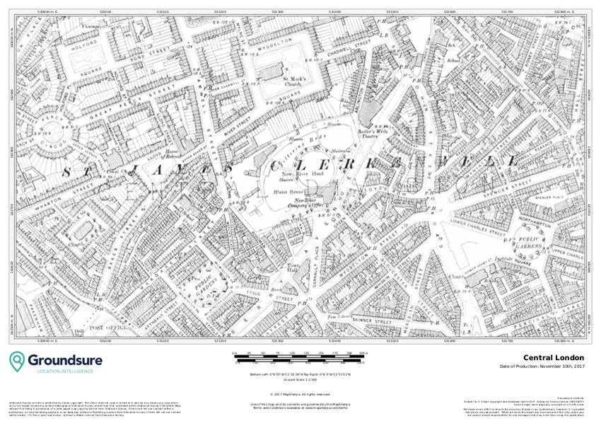 Groundsure Central London Sample
