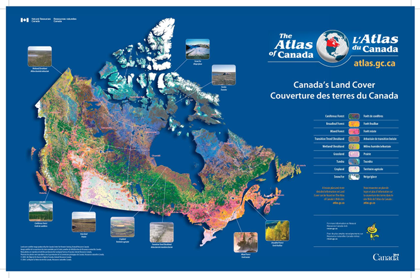 Atlas of Canada Posters Sample