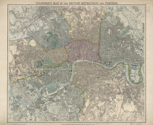 Edward Stanford Cartographic Collection sample map
