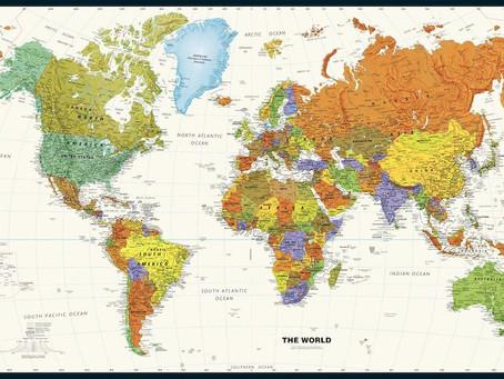 Print on Demand Product Updates: Globe Turner and Magna Carta Maps World and USA Maps