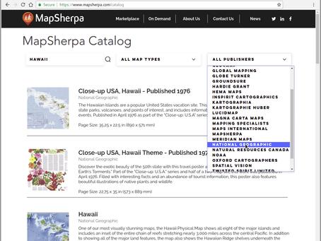 New www.mapsherpa.com site!
