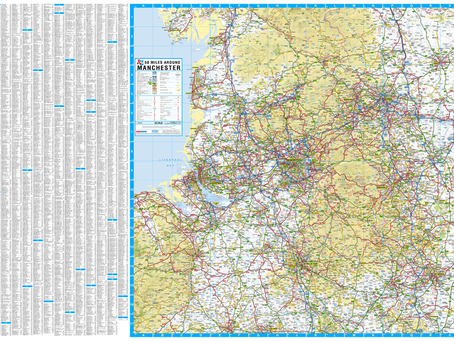 New Print on Demand Maps: A-Z Maps 6 New Road Maps