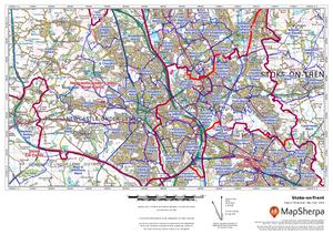 Boundary Line Sample Map