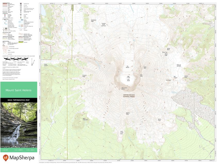 USGS Topo Sample map