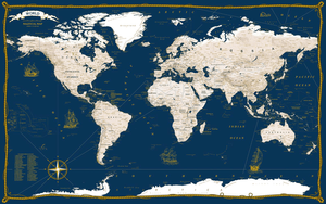AGT Geocenter Nautical-style map