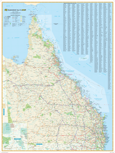 Hardie Grant Travel Queensland Map