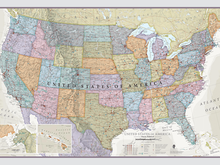 New Print on Demand Maps: Maps International