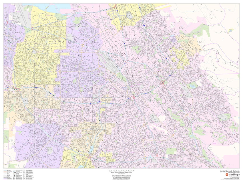 MapSherpa Cities sample