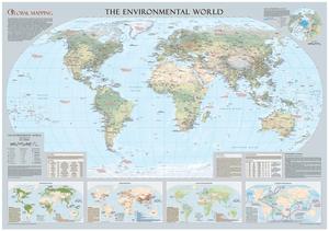 Global Mapping Environmental Poster Sample