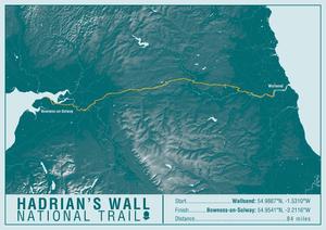 A-Z Maps National Trail maps sample