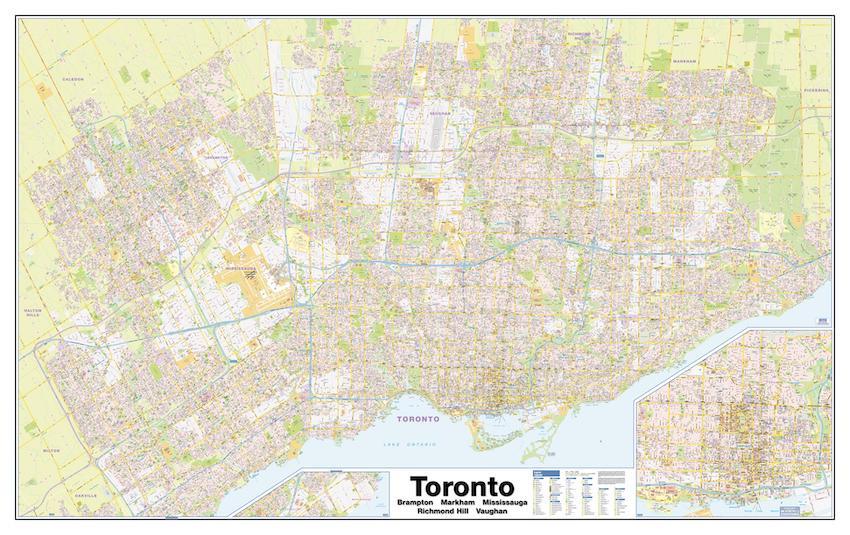 Greater Toronto Area sample map