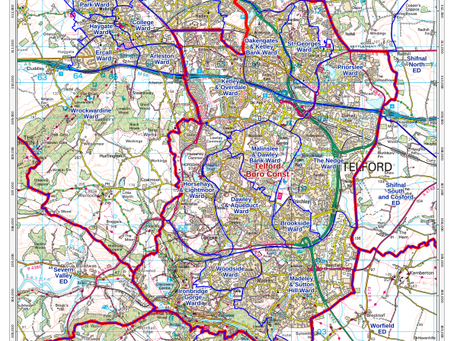 Product Updates: UK Boundary-Line Custom Maps